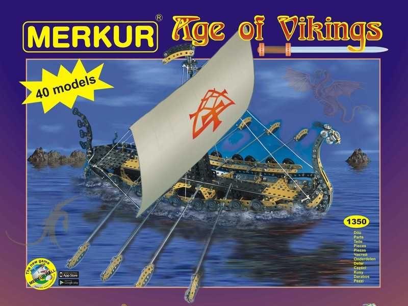 Stavebnica Merkur Age of Vikings