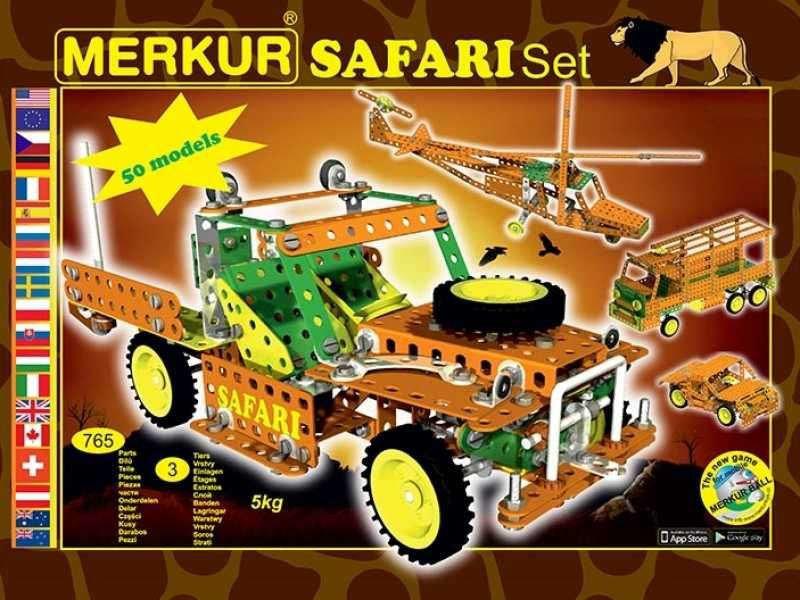 Stavebnica Merkur Safari
