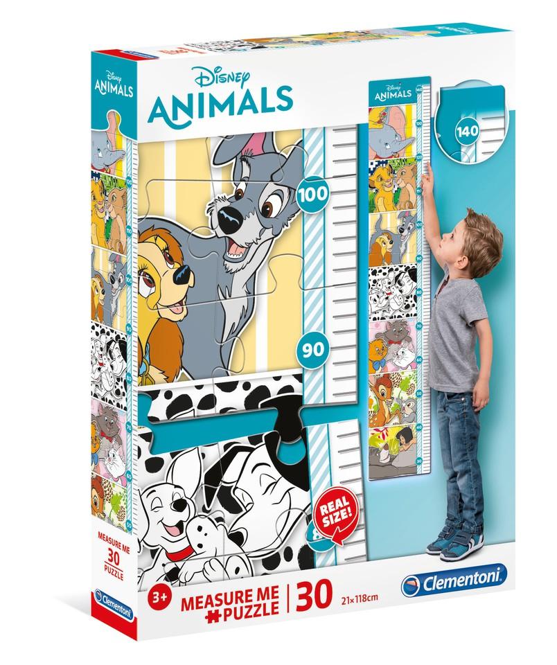 Clementoni Puzzle Meter 30 Disney zvieratká