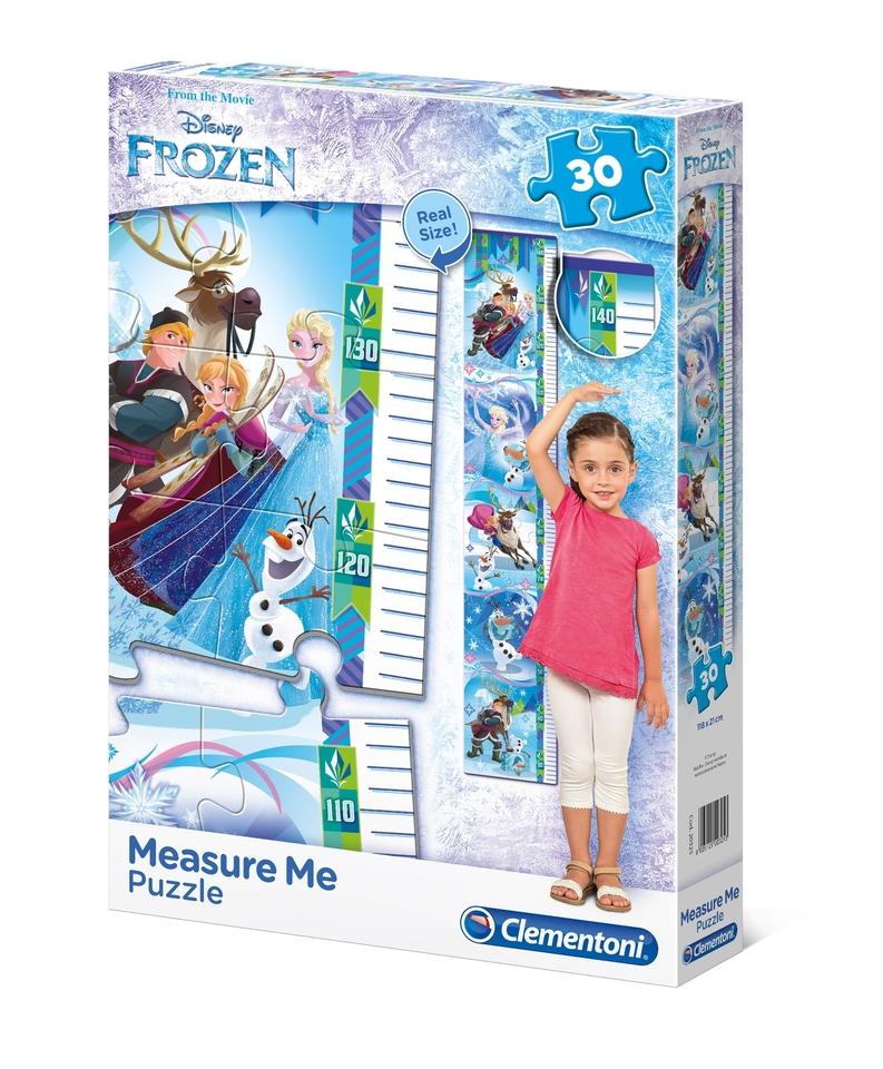Clementoni puzzle Meter Frozen 30 dielikov