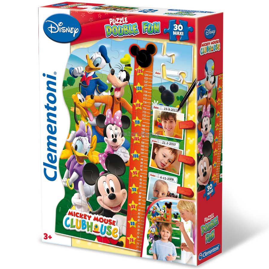 Clementoni puzzle Meter Mickey 30 dielikov
