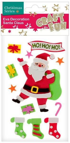 Vianočná dekorácia Santa Claus 11ks