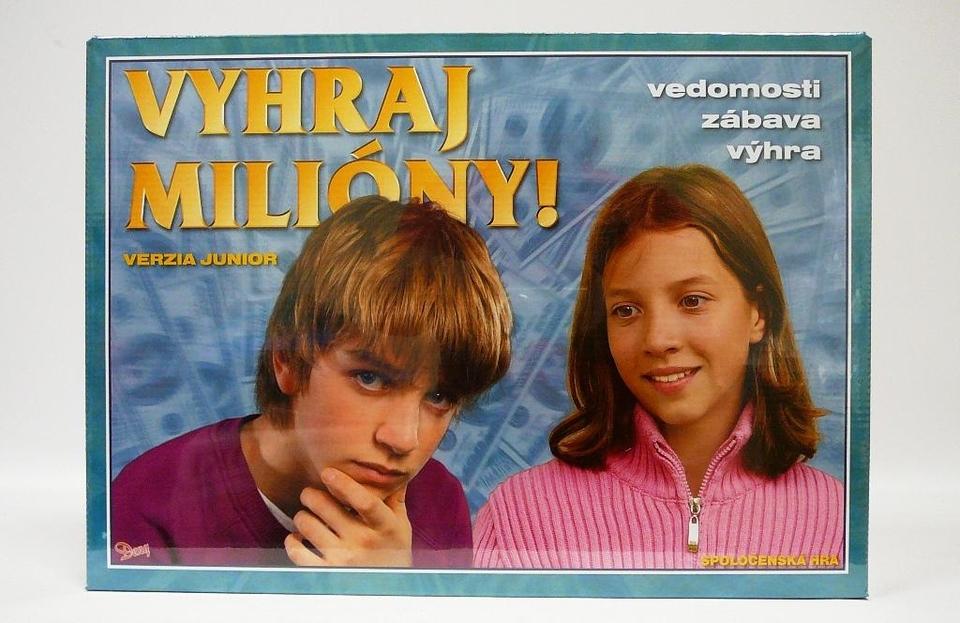 Spoločenská hra - Milionár Junior