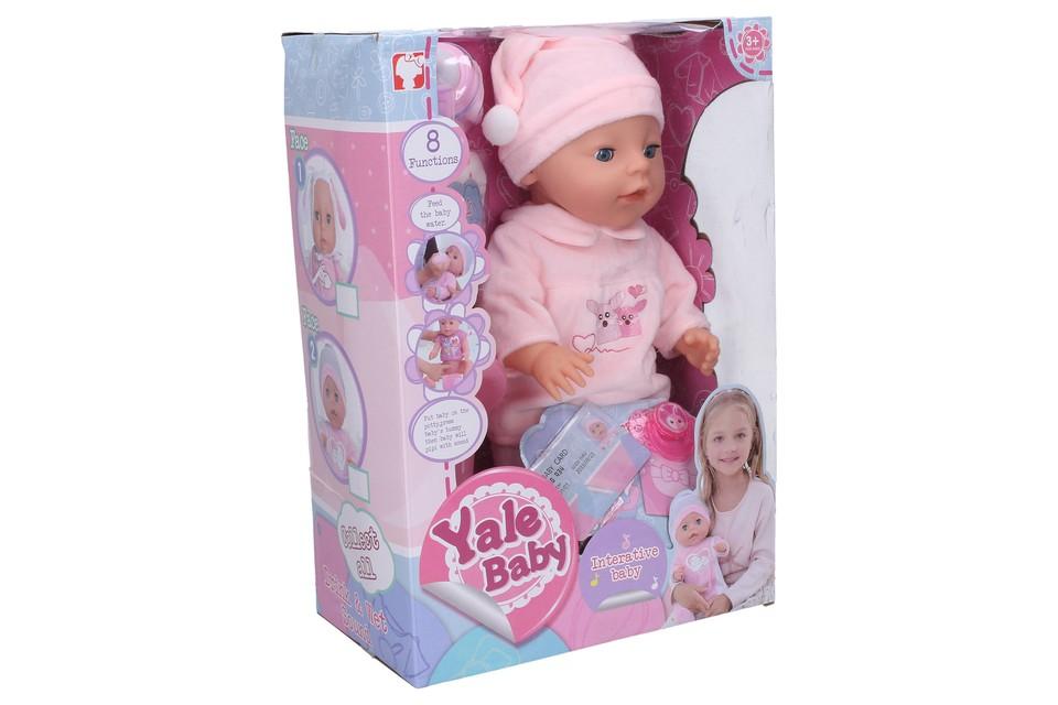 Interaktívne bábätko s príslušenstvom 35cm