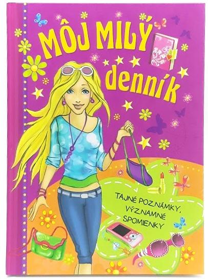 Môj milý denník pre dievčatá 20x15cm