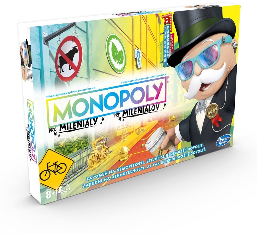 Hasbro Monopoly pre mileniálov