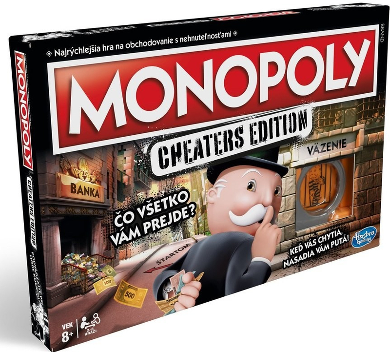 Hasbro Monopoly: Cheaters SK