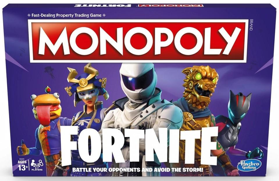 Hasbro Monopoly Fortnite 2-7 hráčov