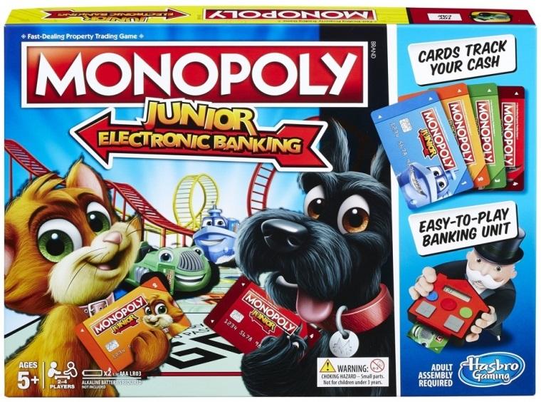 Hasbro Monopoly Junior: Elektronické bankovníctvo