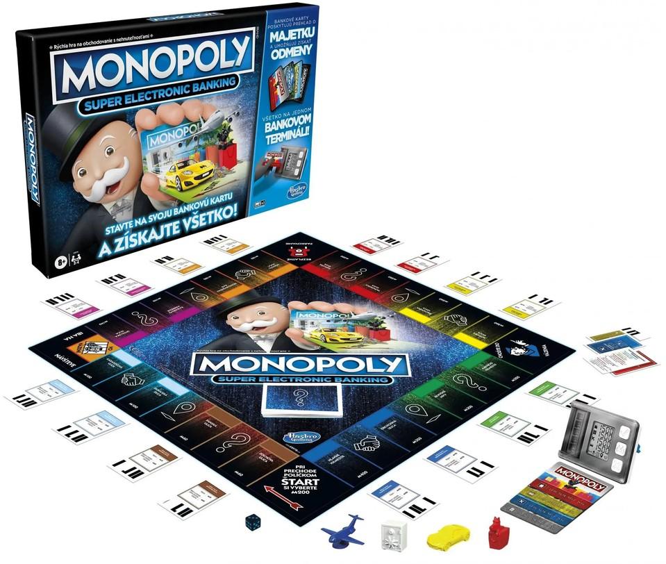Monopoly Super elektronické bankovnictvo SK