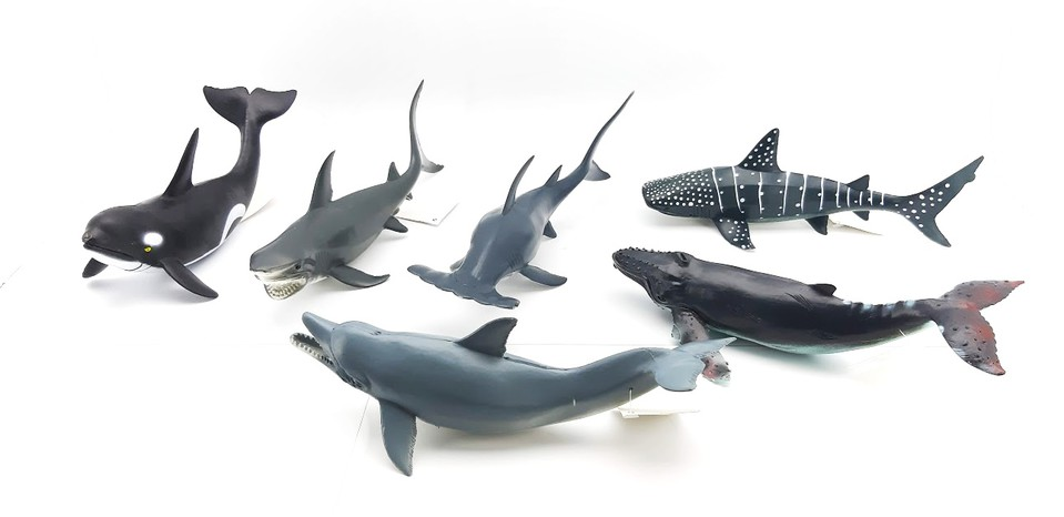 Morské veľryby 23cm