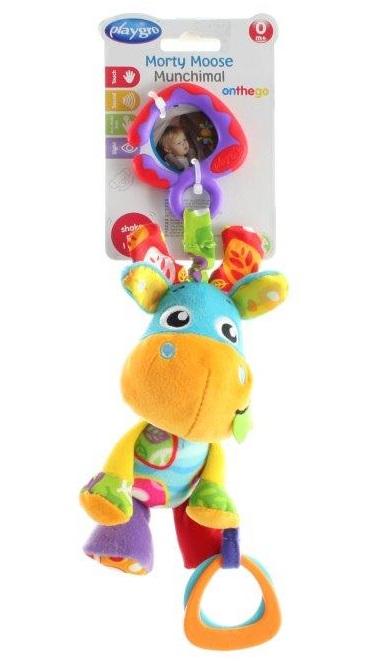 Playgro Zvieratko Morty na zavesenie s hryzátkom
