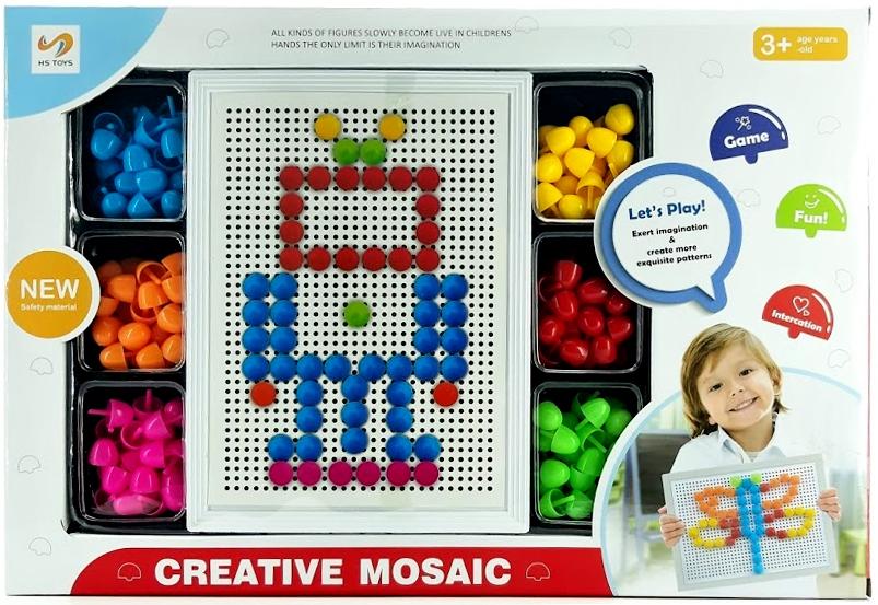 Kreatívna mozaika set 180 dielikov