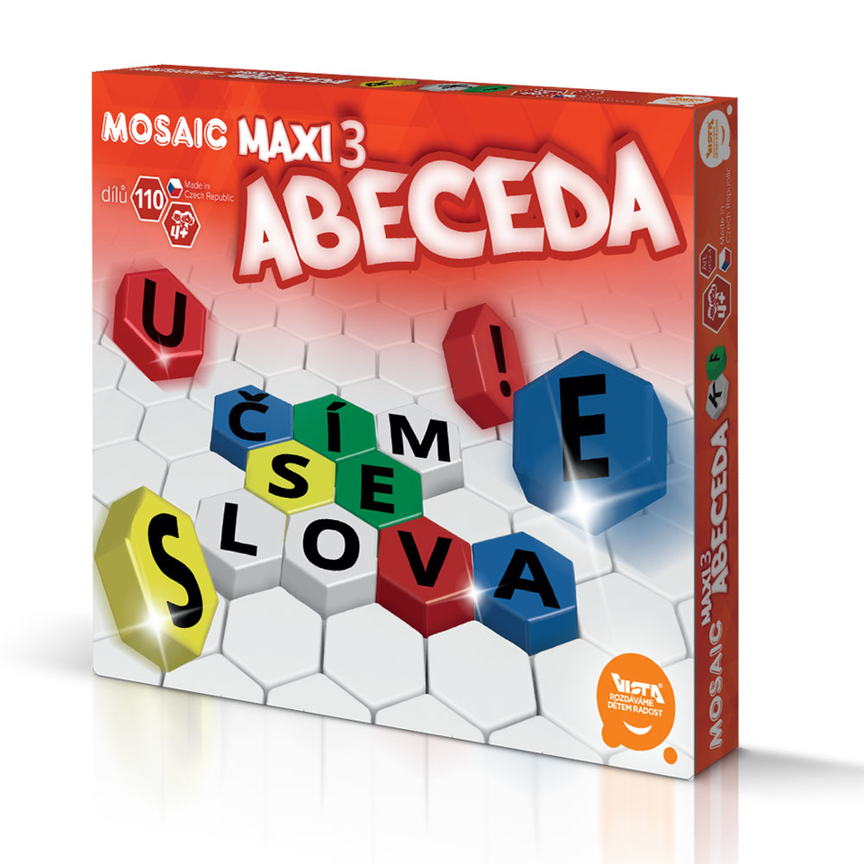 Mozaika Maxi 3 ABC