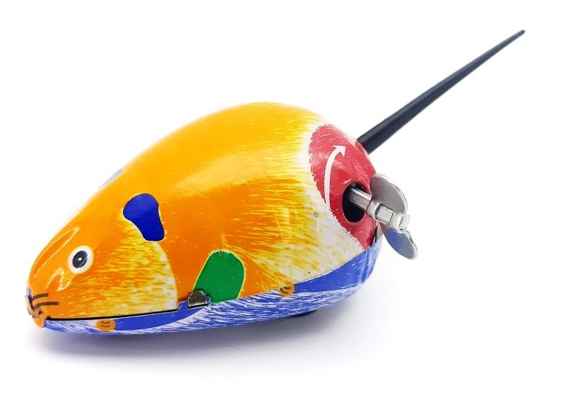 Myš naťahovacia 11cm