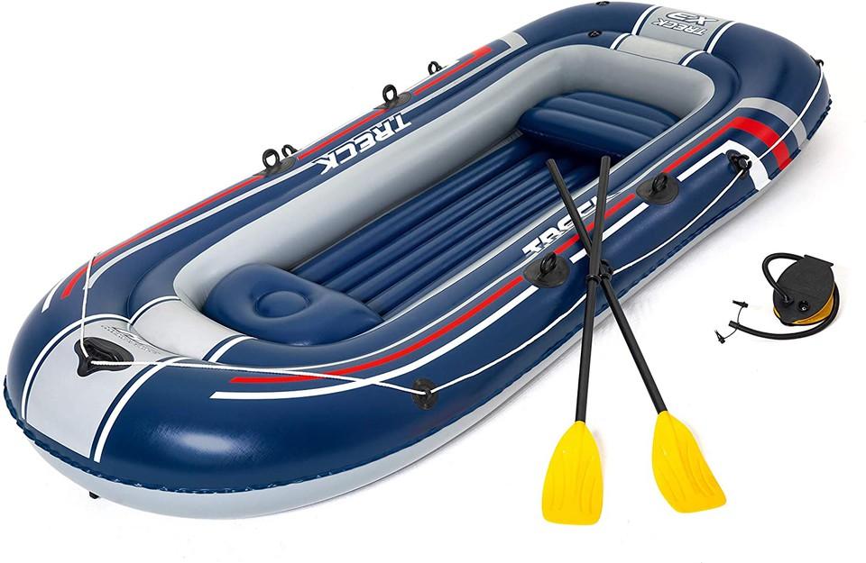 Bestway 61110 Hydro-force nafukovací čln Treck X3, 307x126x39cm