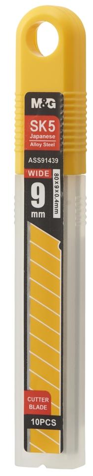 Náhrady do olamovacích nožov 9mm/5ks