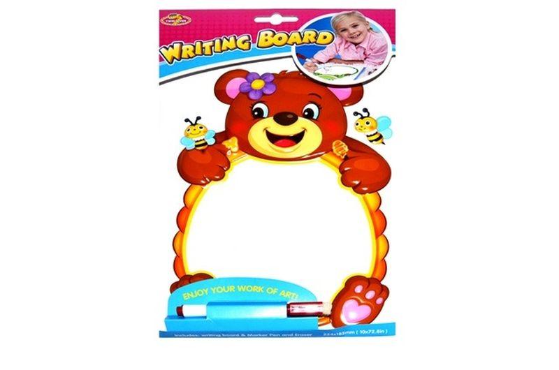 Nálepka tabuľa medveď