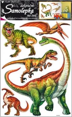 Nálepky - Dinosaurus