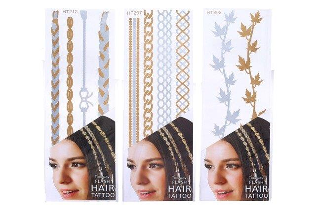 Nálepky do vlasov