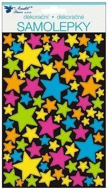 Nálepky - Hviezdy hologram