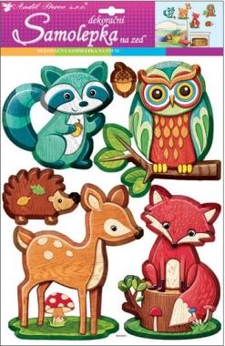 Nálepky - Lesné zvieratká