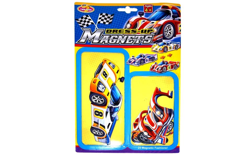 Nálepky-magnet autá
