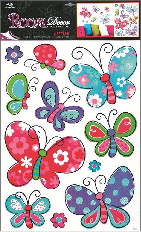 Nálepky motýle  5703000ec38