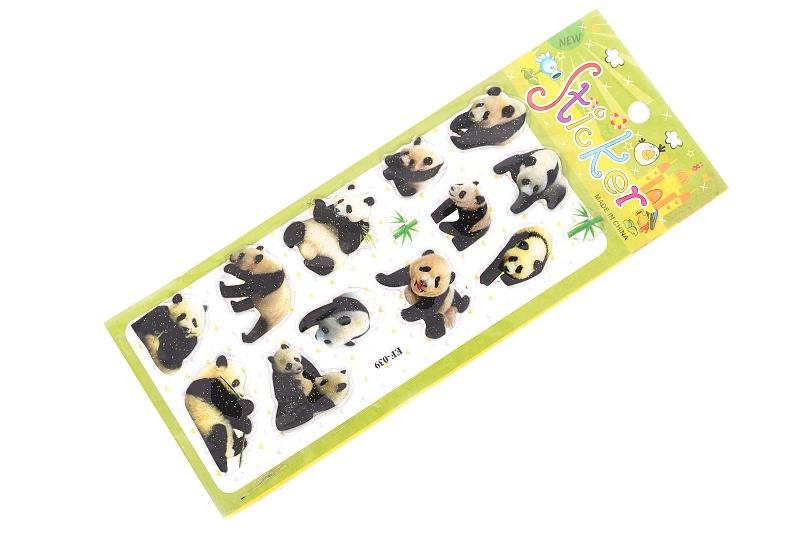 Nálepky panda