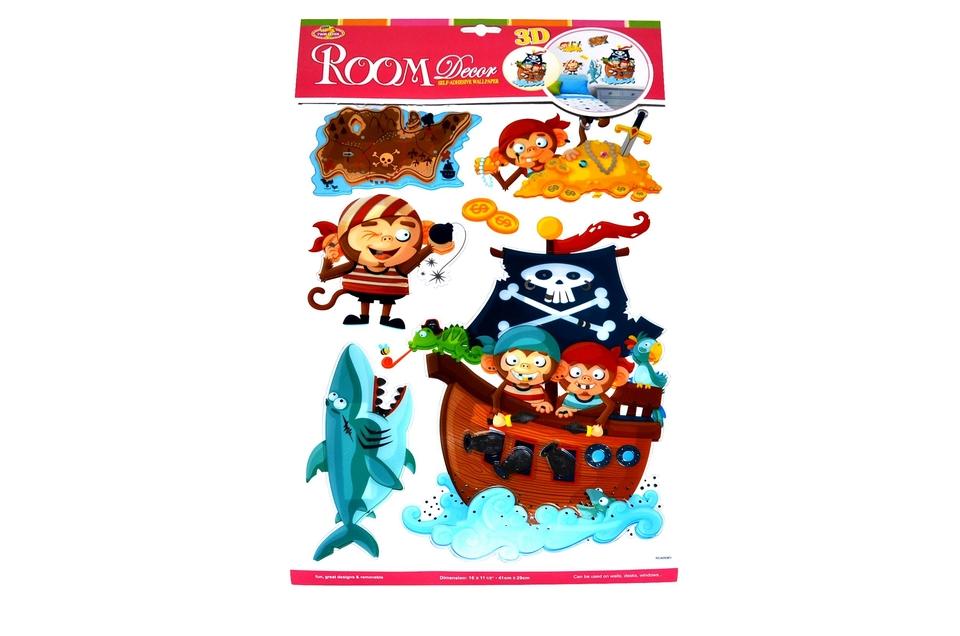Nálepky Pirát