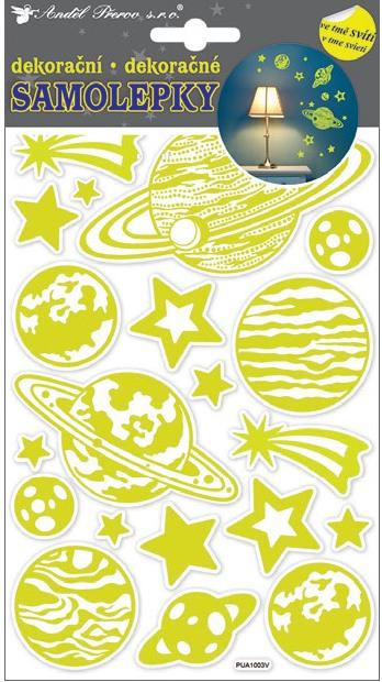 Nálepky - Planéty svietiace