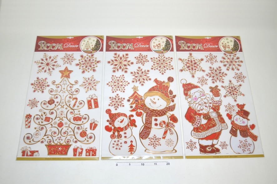 Nálepky Vianočné