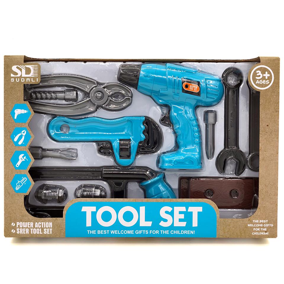 Detské náradie Tool Set 12ks