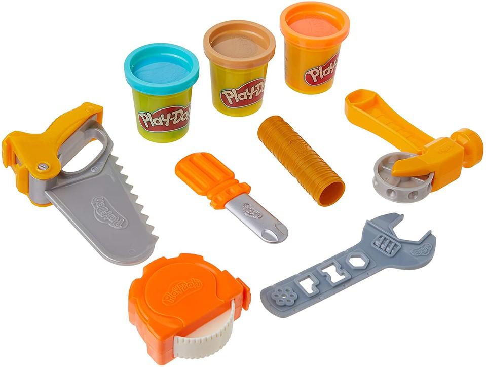 Play-Doh detské náradie Toolin Around sada 9ks
