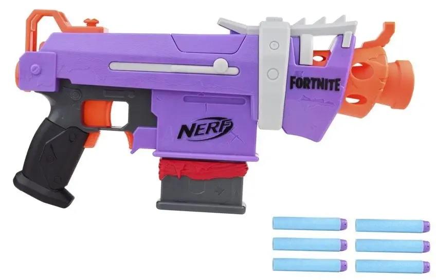 Hasbro Nerf Fortnite SMG-E+6nábojov