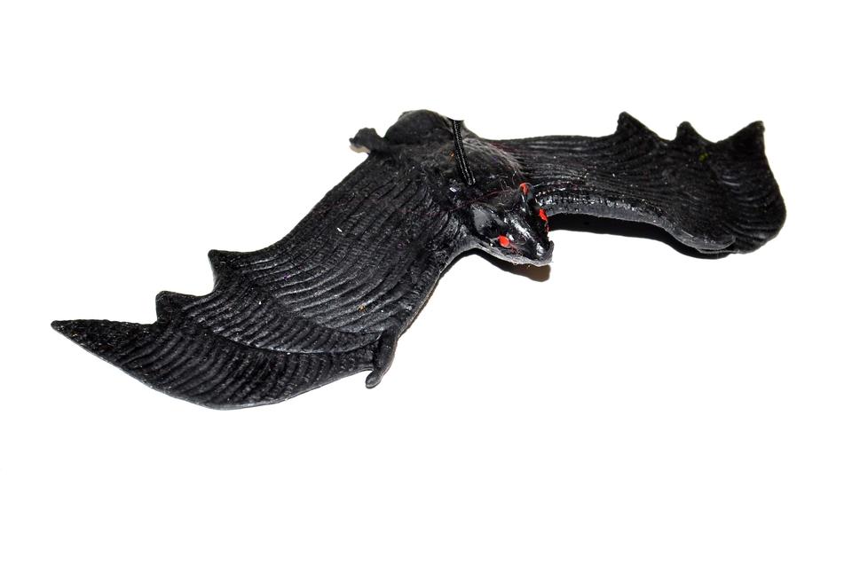 Netopier gumový 12cm