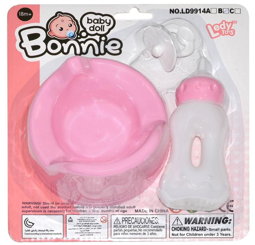 Nočník pre bábiky s doplnkami 10cm