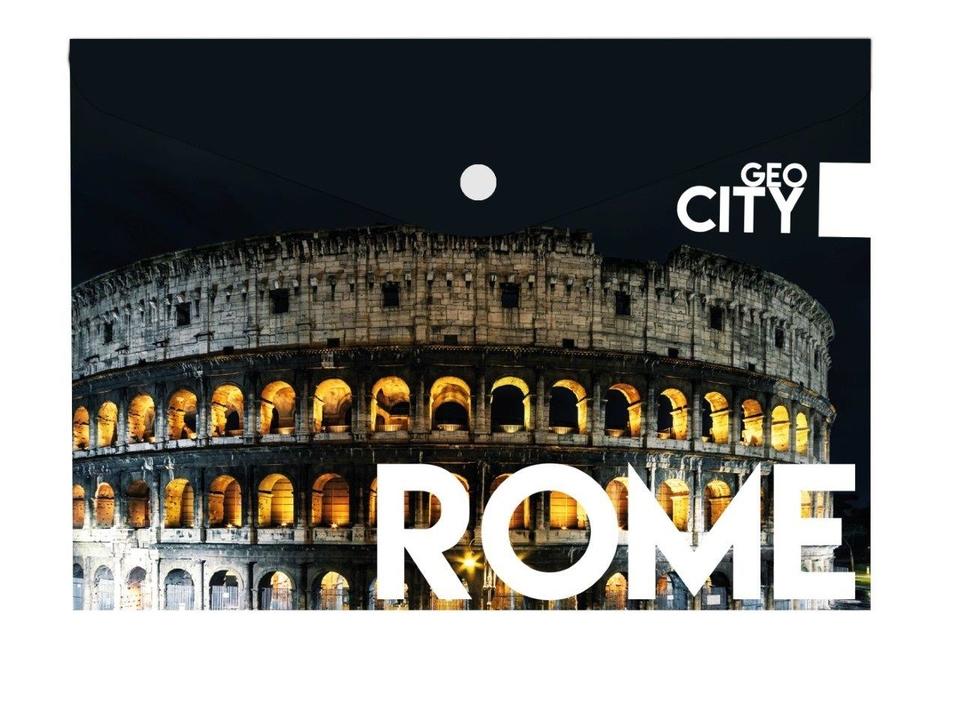 Obálka s cvokom A4 Rím