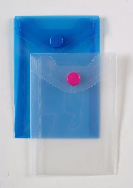 Obálka s cvokom A6 - ružová