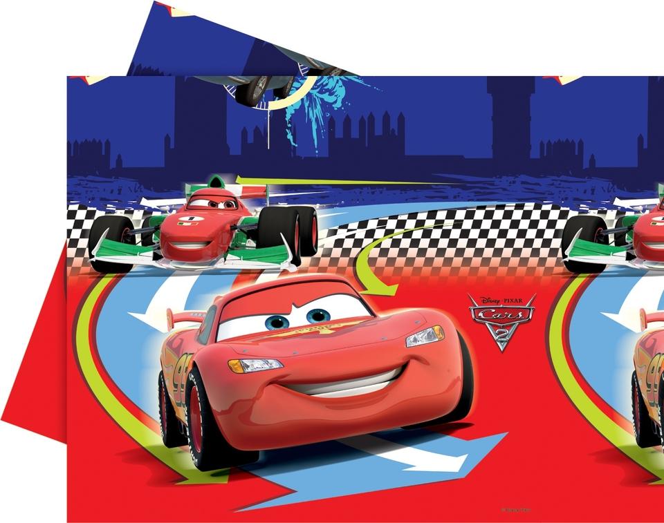 Obrus Cars 2, 180x120cm