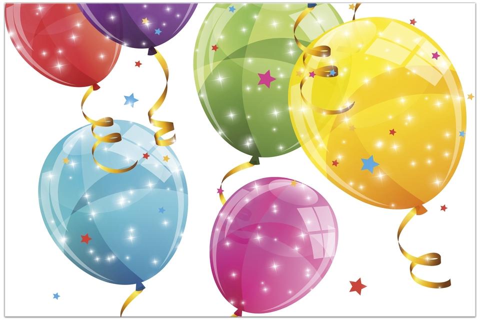 Obrus Balóny 180x120cm
