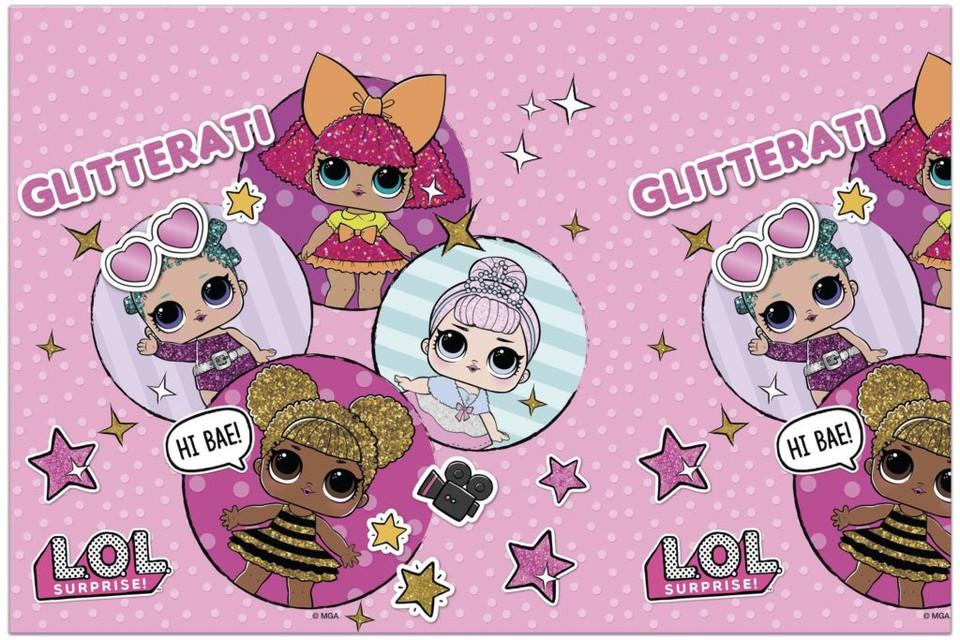 Obrus Lol Glitter 120x180cm