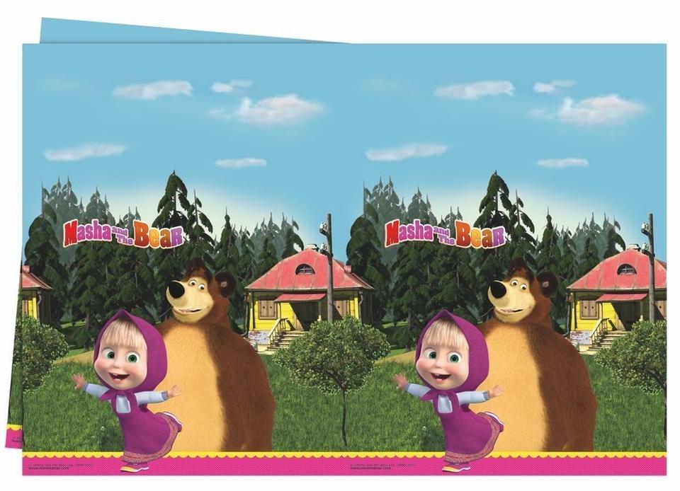 Obus Masha a medveď 180x120 cm