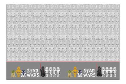 Obrus Star Wars 120x180cm
