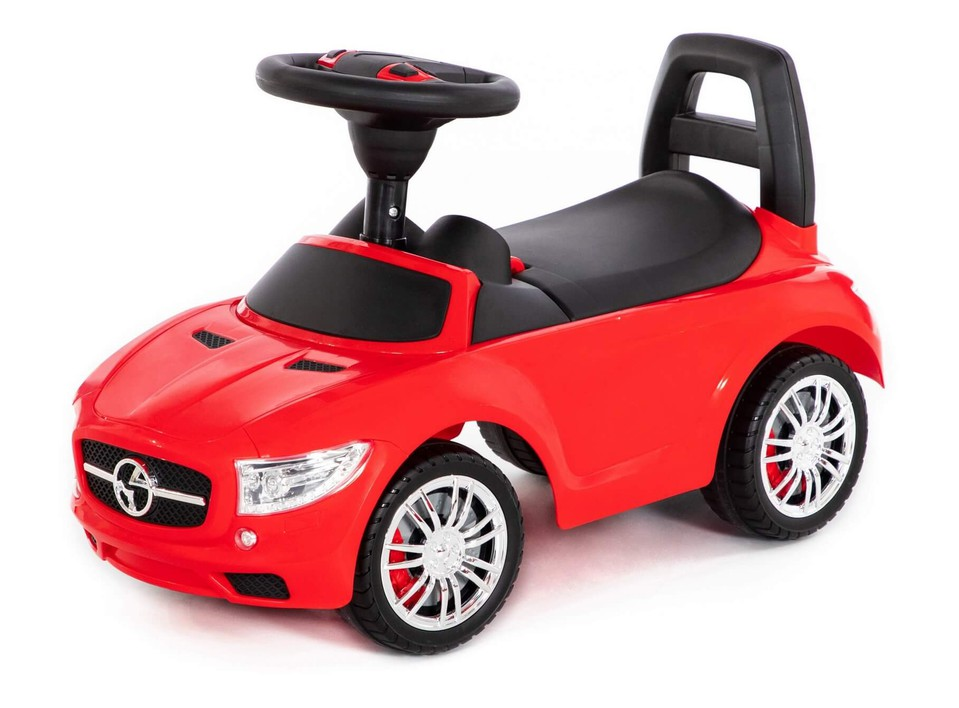 Detské auto odrážadlo SuperCar červené