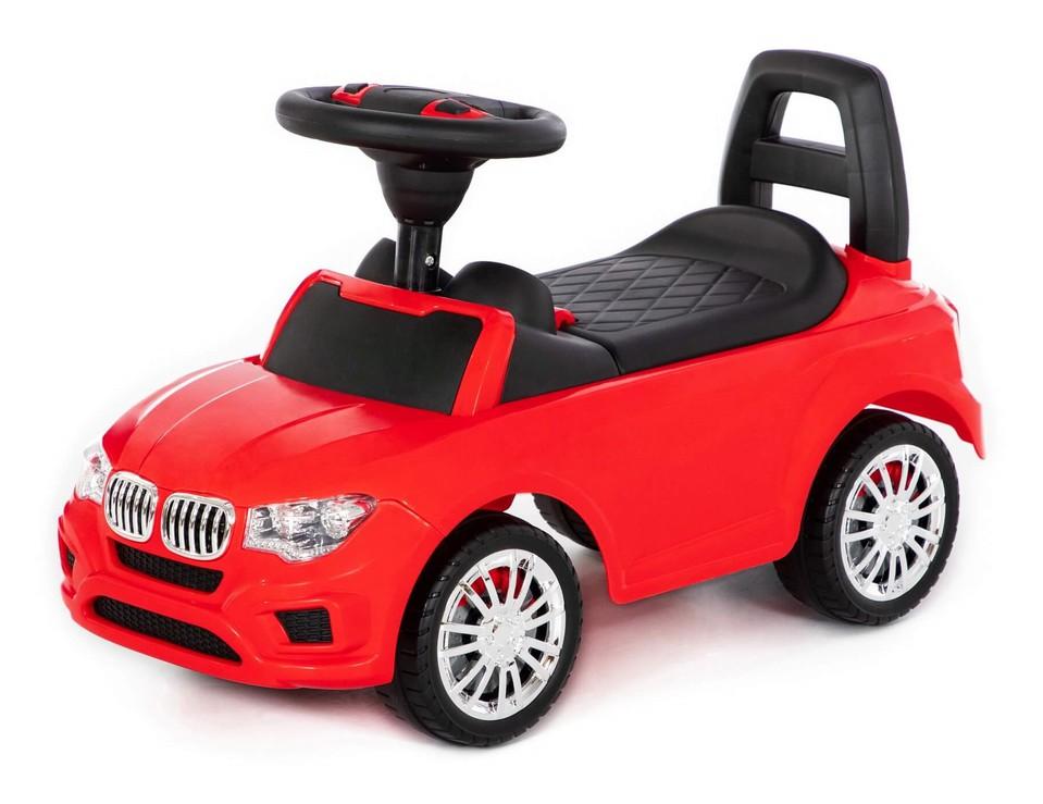 Detské auto odrážadlo BMW červené