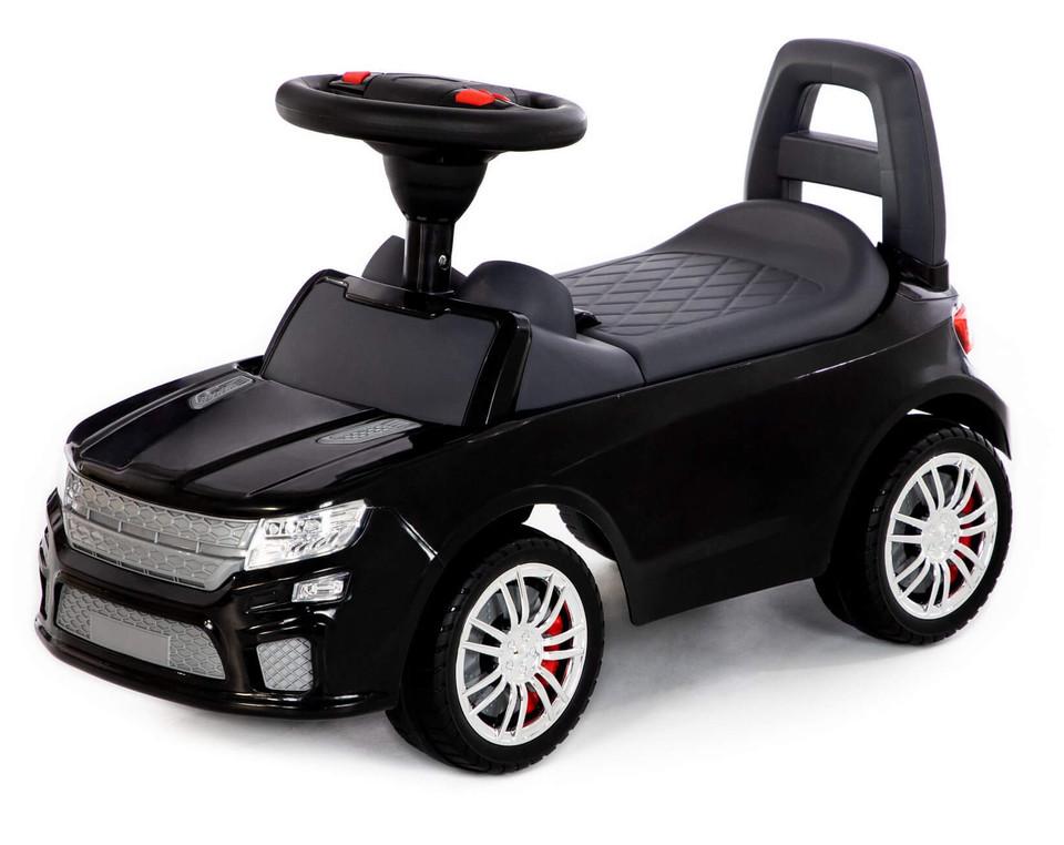 Detské auto odrážadlo SUV čierne