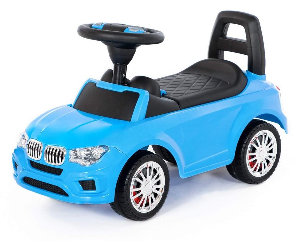 Detské auto odrážadlo BMW modré