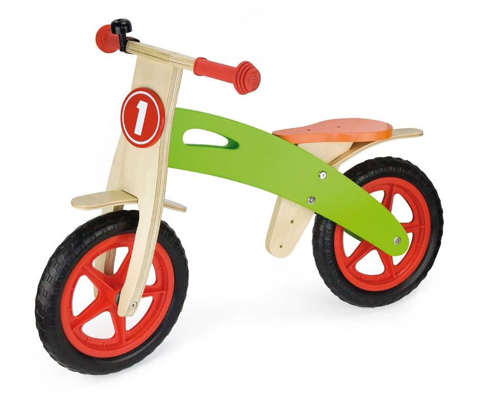 Drevené odrážadlo motorka