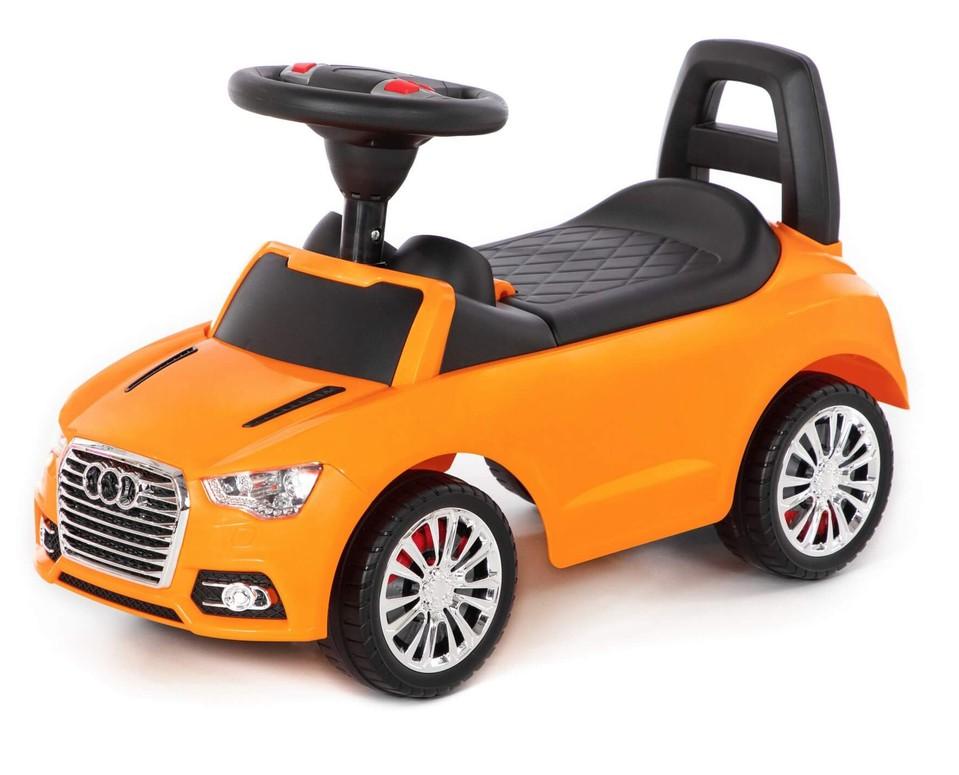 Detské auto odrážadlo AUDI oranžové
